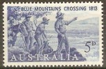 AUSTRALIA - 1963 Explorers. Scott 355. Mint Hinged * - 1952-65 Elizabeth II: IEmissione Prima Decimali