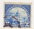 U.S. 572  PERFIN  (o)  Perf 11  No Wmk.  1922-5 Issue - United States