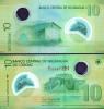 Nicaragua 2009 - 10 Cordobas Polymer Banknote UNC - Nicaragua