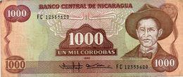 NICARAGUA 20 CORDOBAS D. 1978 PICK # 129 UNC-. - Nicaragua