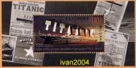 Centenary Of The Of The TITANIC Ship Sink  -  Bulgaria 2012 Year -  Block MNH** - Ships