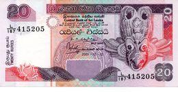 CEYLON 5 RUPEES 1962 P 63 UNC - Sri Lanka