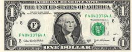 STATI UNITI 1  $ DOLLARO 2003 A SERIE See Scan Au - Billetes De Estados Unidos (1928-1953)