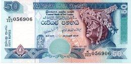 SRI LANKA 20 RUPEES P93 1985 CEYLON MOON STONE DAGOBA UNC NOTE - Sri Lanka