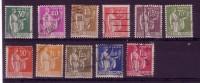 YT 280-289 - Paix Série Complète Oblitérée - Cote 12 Euros - 1932-39 Peace