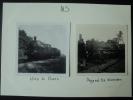 Netherlands Vintage Photo Train Crash At Woerden - Trains