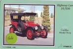 Carte Prépayée Voiture (166) OLDTIMER JAPAN * Carte JAPON * WAGEN * CAR * AUTO  * CADILLAC - Cars
