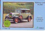 Carte Prépayée Voiture (168) OLDTIMER JAPAN * Carte JAPON * WAGEN * CAR * AUTO  * CHEVROLET - Cars