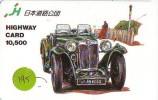 Carte Prépayée Voiture (195) OLDTIMER JAPAN * Carte JAPON * WAGEN * CAR * AUTO  * MG - Cars