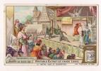 ### Chromo, Liebig, Le Theatre Jadis Et Aujourd'hui, Representation D'un Mystere Au Moyen Age - Liebig