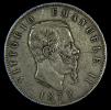 5 LIRE SCUDO SILVER SILBER ARGENTO 1872 M - AFFARE! - 1861-1946 : Regno