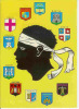 20  CORSE  Souvenir ( Blasons) - Corse