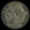 BELGIQUE / BELGIO - 5 FRANCS (1873) ROI LEOPOLD II - 1865-1909: Leopoldo II