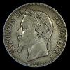 5 FRANCHI NAPOLEON III SILVER SILBER ARGENTO 1868 - AFFARE! - Francia