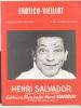 3378 -  Henri Salvador - Chant Soliste