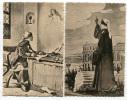 LOTTO 5 CARTOLINE FORMATO PICCOLO DANTE ALIGHIERI ILLUSTRATORE SARRI ISTRIA POLA SAN GIMIGNANO SIENA - Historia