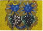 """Tapisserie """"Les Gémeaux"""". Par Jean Lurçat. Fragment De Haut Zodiac - Astrologie"""