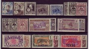 Indo-Chine, Guyane Les Wallis Futuna, Senegal, Mauritanie, Reunion, CamerounGabon, Guiné, Dahomey, Océanie, Togo Somalis - Francia (vecchie Colonie E Protettorati)