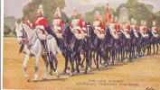 EE 766/ C P A -    THE LIFE GUARDS MARCHING THROUGH THE PARK - Régiments