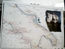NAVIGARE  TURISMO  CARTINA MAPPA  PUGLIA MOLISE ABRUZZO ITINERARIO IN BARCA  N2005  DS14608 - Barche