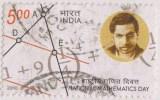 India 2010 Unissued, Mathematics Formula, S Ramanujam, Used, Very RARE!!!!!! - Physics