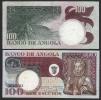 ANGOLA :  Banconota 100 Escudos - 1973 - XF - Angola