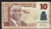 NIGERIA  : Banconota 10 Naira 2009  - FDS - Nigeria