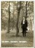 Grosser Mann Im Wald, Auf Agfa Brovira, Maße: 18 X 13 Cm - Photos