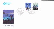 FEROE FDC Europa-CEPT 1997 Cote Michel 4,50€ - Faroe Islands