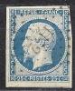 """FR YT 10 """" Louis-Napoléon 25c. Bleu """" 1852 PC 1172 ELBEUF - 1852 Louis-Napoleon"""