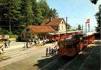 SZU, Üetliberg, Abfahrt Üetlibergbahn In Zürich-Selnau, Zwitserland Schweiz Suisse Switzerland - Trains