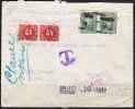 T)1913,CIRC.COVER COCHABAMBA BOLIVIA TO USA,MIXED FRANKING,REGISTERED.- - Bolivia