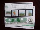 KUT 1975 O.A.U. SUMMIT CONFERENCE,KAMPALA Issue 4 Values To 3/- MNH With PRESENTATION CARD.D. - Kenya, Uganda & Tanganyika