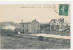 BERNIERES  La Gare  Train - France