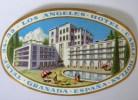 Etiquette D´Hotel - Los Angeles - Hotel- CableHotlan - Granada - Espana : Etiqueta - Hotel Labels