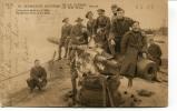 """Ancienne Cp """"Zeebrugge, Souvenir De La Guerre 1914-18, Gros Canon Boche Sur Le Môle"""" Avec Valeur Et Cachet 1919 - Zeebrugge"""