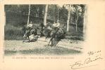 SAUMUR N°33 - Steeple Rapp Des Lieutenants D' Instructions - Edit. Fr. Voelcker - 2 Scans - Saumur