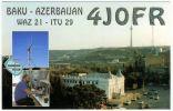 QSL Card - Azerbaijan - Baku 2002 - Radio Amateur