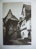 Alsace , Eguisheim , Héliogravure Sépia 1929 - Documenti Storici