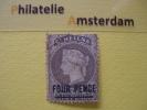 St Helena 1884-94, VICTORIA -OVERPRINT, Mi 18, SG 43, * - Groot-Brittannië (oude Kolonies En Protectoraten)