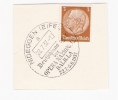 Nideggel Eifel 1937 Deutschlandlager Der Opera Nazionale Balilla Sonderstempel - Covers & Documents