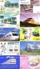 50 Cartes Japon Différentes TRAINS - 50 Different Japan Prepaid TRAIN Cards (Z-296) Trein Zug * Chemin De Fer Locomotif - Tarjetas Telefónicas