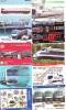 50 Cartes Japon Différentes TRAINS - 50 Different Japan Prepaid TRAIN Cards (Z-297) Trein Zug * Chemin De Fer Locomotif - Phonecards
