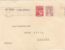 6723# ARGENTINE LETTRE Por Vapor CAP ARCONA PAR VAPEUR Obl BUENOS AIRES 1955 Pour COBURG ALEMANIA DEUTSCHLAND ALLEMAGNE - Argentine