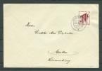 Auslandsbrief EF 693 Duisburg  Nach Luxemburg Wecker 1939 !!  (Del-2774) - Lettres & Documents