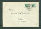 Auslandsbrief MEF 692 Duisburg Nach Luxemburg / Wecker !  (Del-2776) - Lettres & Documents
