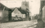 80 CAIX - La Rue De L'église - Autres Communes