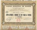 CASINO MUNICIPAL DE BANDOL - Casino