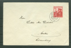Auslandsbrief EF 691 Duisburg Nach Luxemburg / Wecker !  (Del-2778) - Lettres & Documents