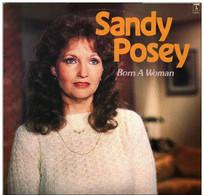 * LP *  SANDY POSEY - BORN A WOMAN (Holland 1966) - Country En Folk